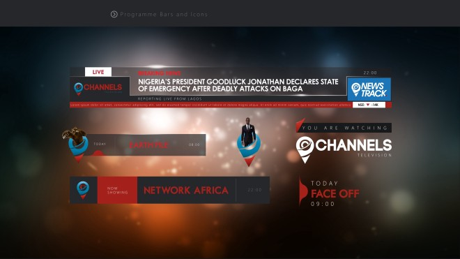 Channels TV Broadcast Identity Rebrand by Kanso - Layrz