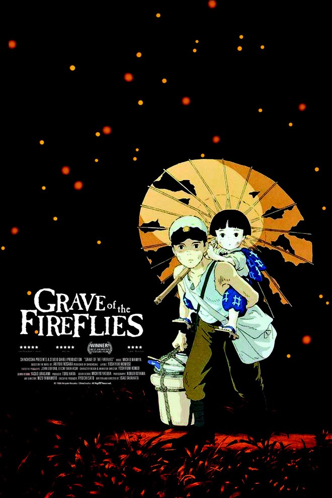 Ghbblithe Truth About The Poster Of Graves Of Fireflies By Studio Ghibli Merchandise Medium