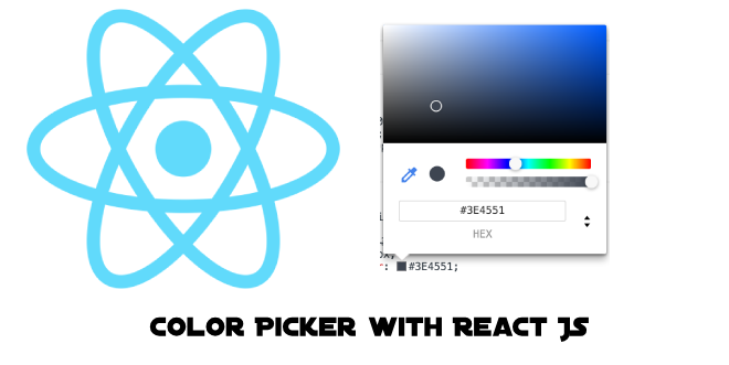 Color Picker by React JS and React-Color - Tariqul Islam