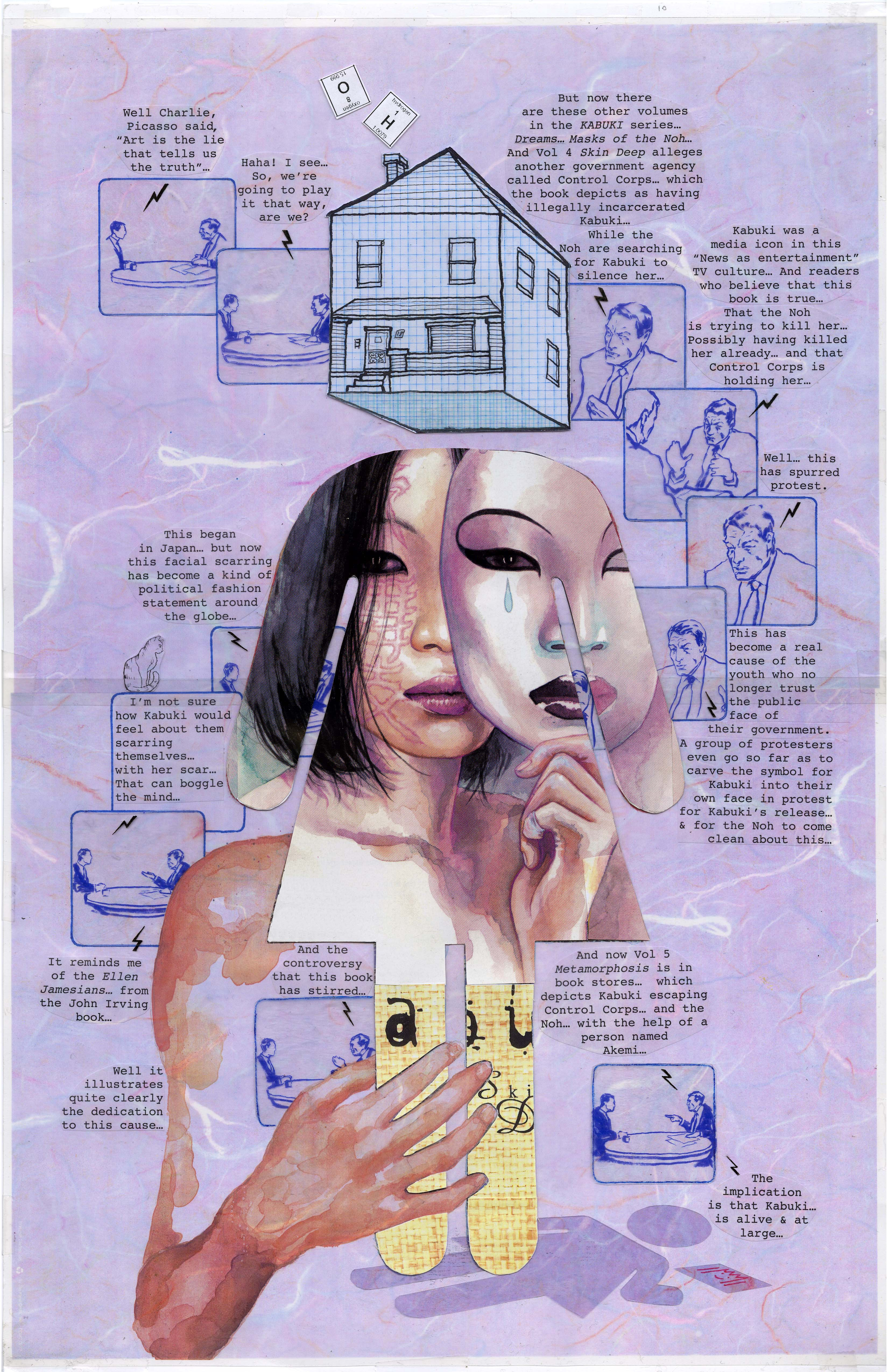 Drawing Outside The Lines The Art Of David Mack Modern