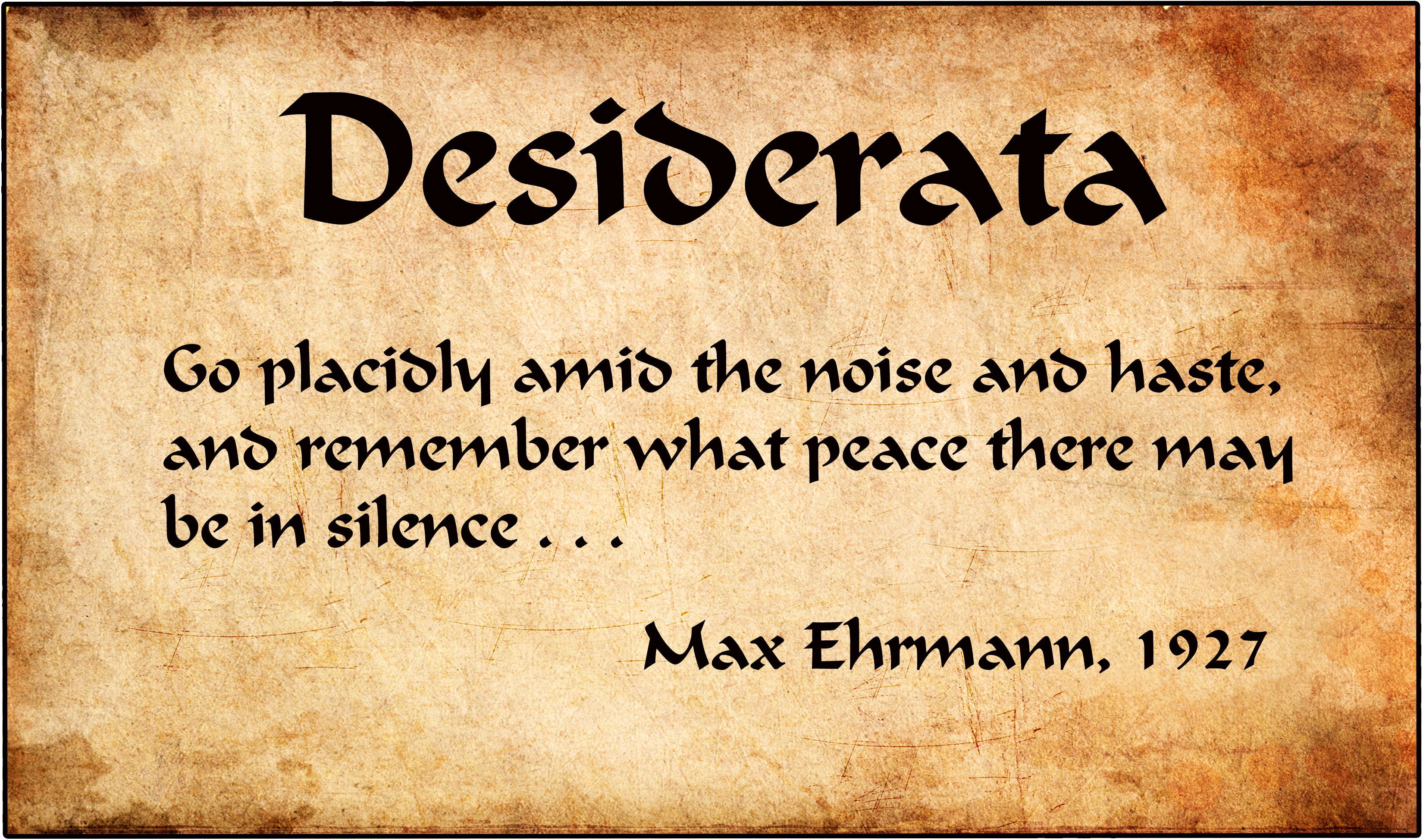 The Meaning Behind The Desiderata Poem By Michael Shook Publishous Medium Find out what is the full meaning of poem on abbreviations.com! the meaning behind the desiderata poem