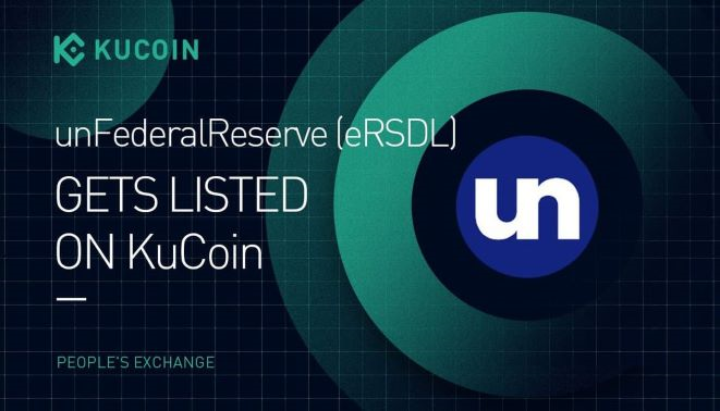 unFederalReserve (eRSDL) is available on KuCoin