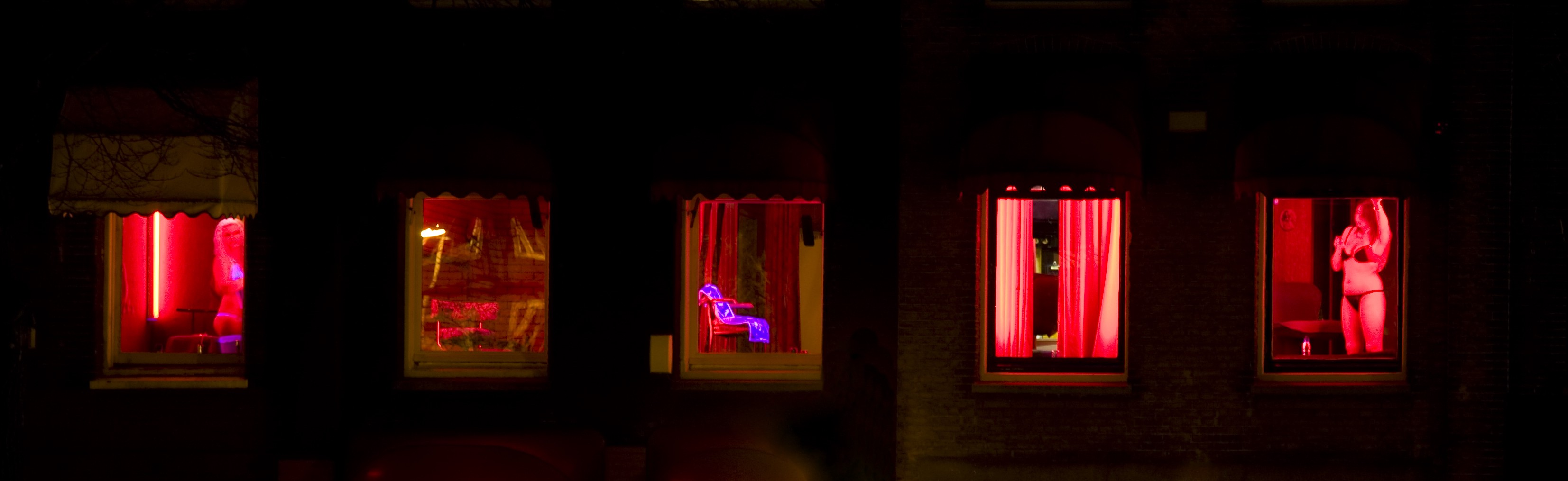 Red light amsterdam prostitutes district Red Light