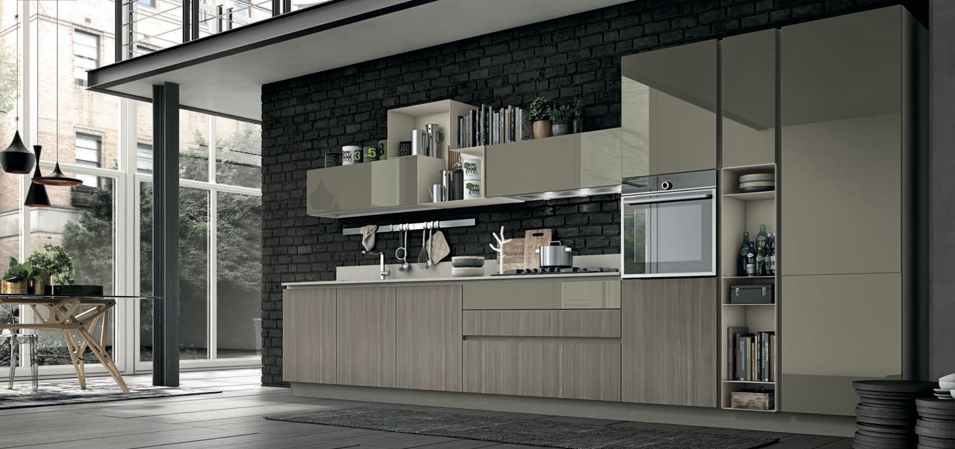 Different Kitchen Style For Modular Kitchen In India By Stosa Cucine India Medium