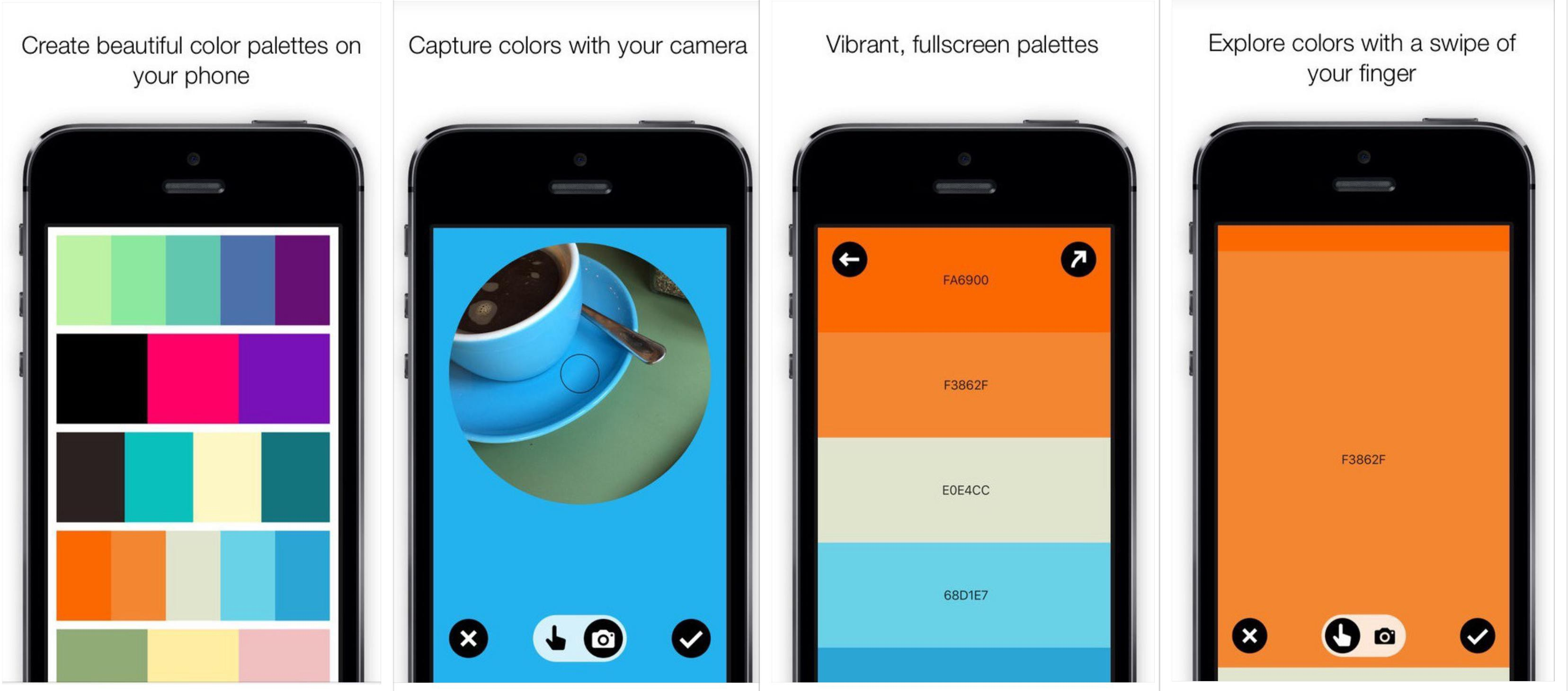 8 Color Dot App color palette designer