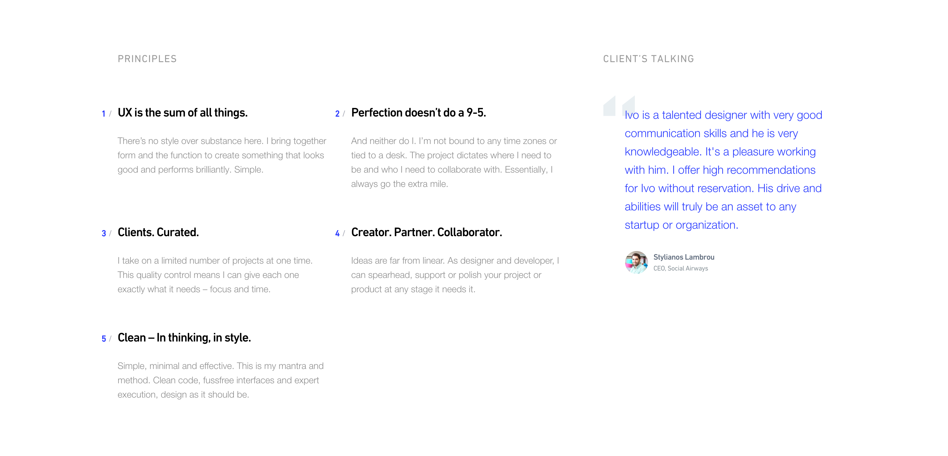 How to Structure Your First UX Design Portfolio - UX Planet