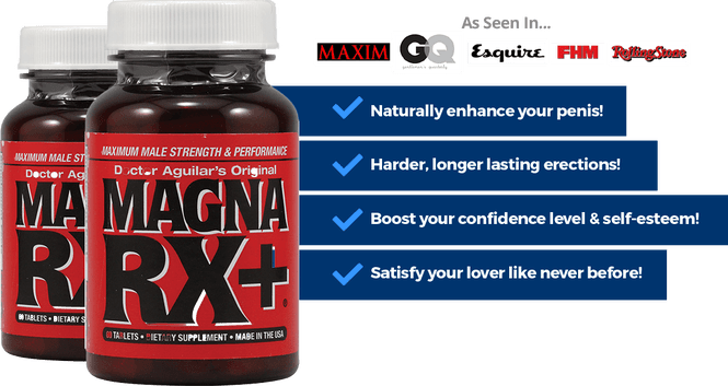 Magna Rx And Horny Goat Weed Combination