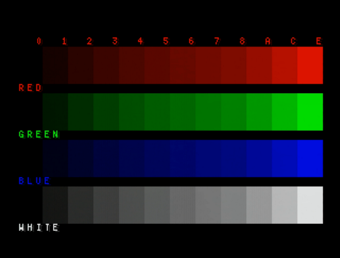 Comparing native RGB video quality of different models of Mega Drive
