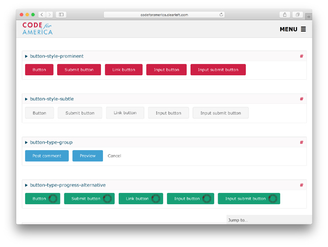 Beyond Bootstrap –moving from UI toolkit to component library