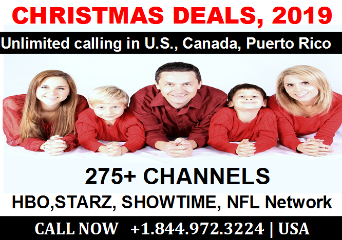 Tv And Internet Service >> Christmas 2019 Cable Tv And Internet Plans 1 844 972 3224