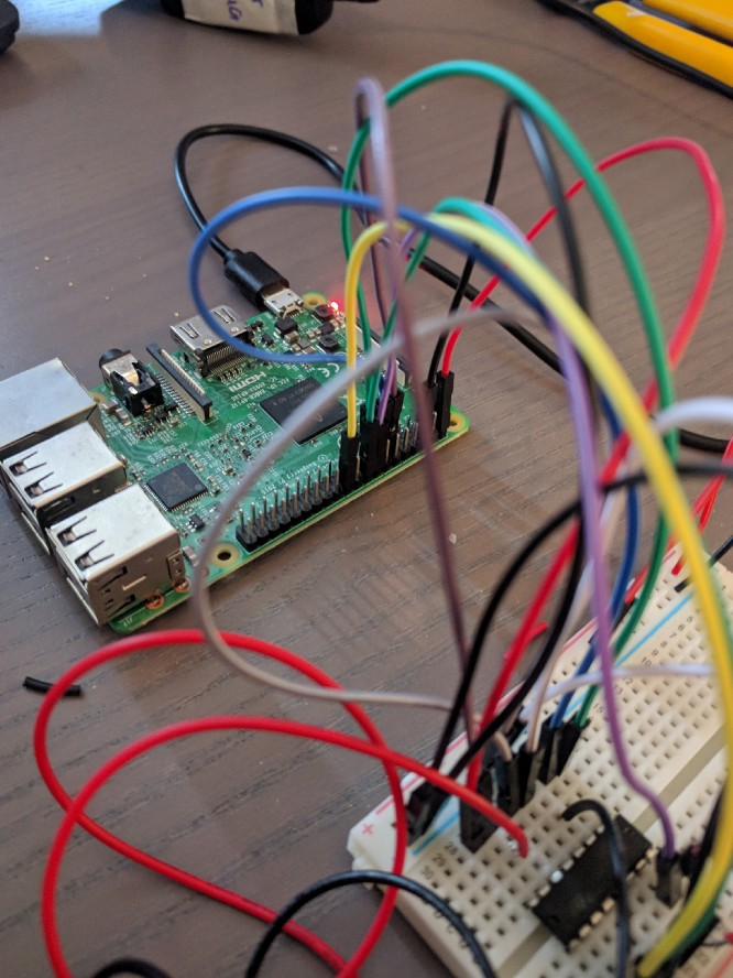Controlling DC Motors Using Python With a Raspberry Pi (40 pin)