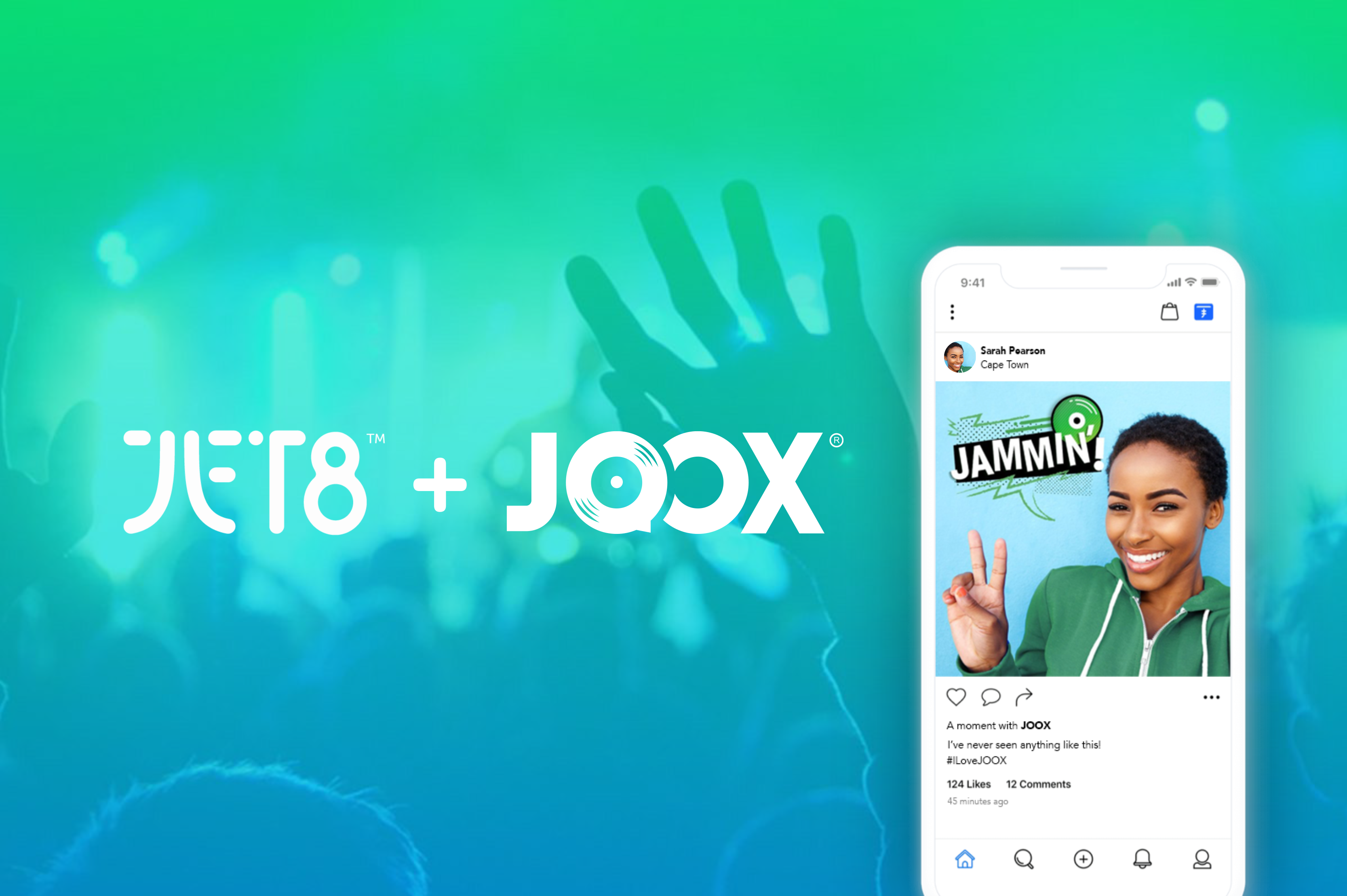 JOOX STICKERS NOW AVAILABLE ON APPS USING JET8's FINTECH
