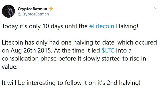 0*IdBirfSou6lkJAi7 - Litecoin Halving — What Will Happen With LTC Price?