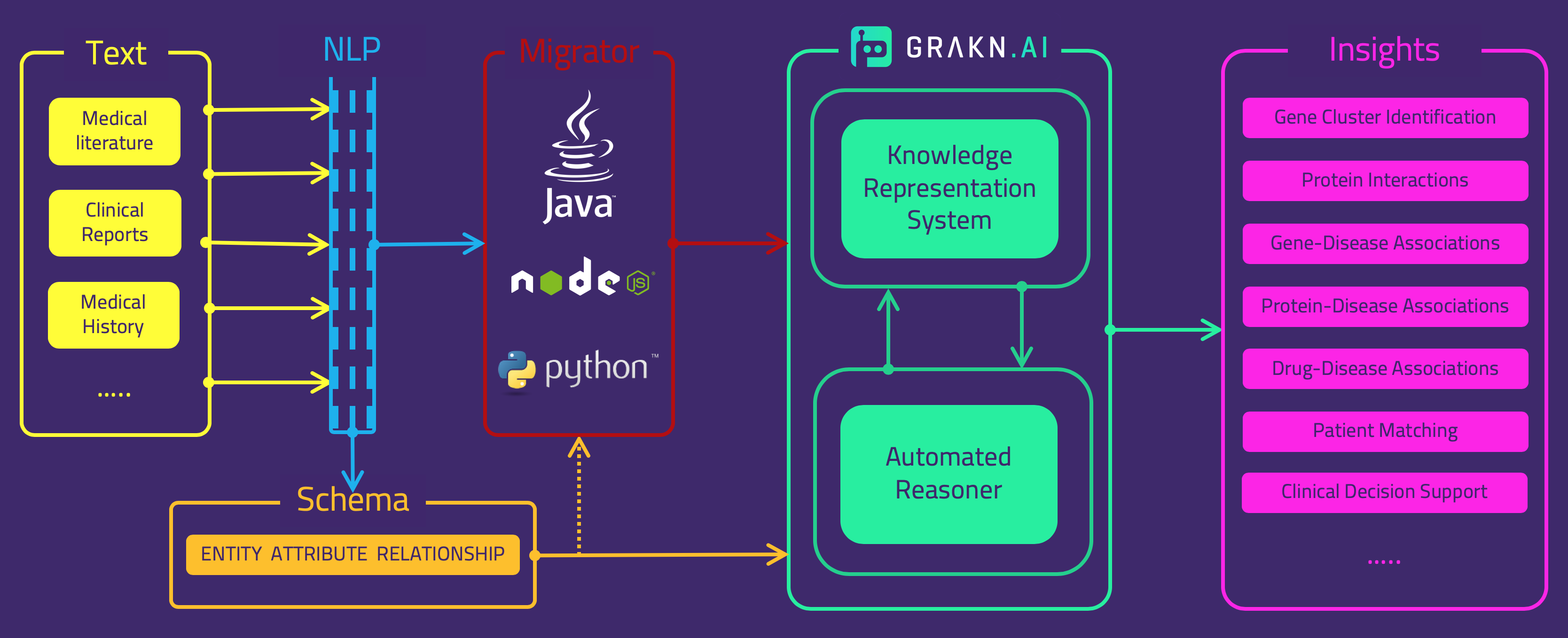 Text Mined Knowledge Graphs — Beyond Text Mining - GRAKN AI