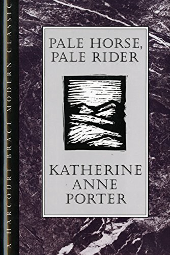 Book cover for Pale Horse, Pale Rider by Katherine Anne Porter.
