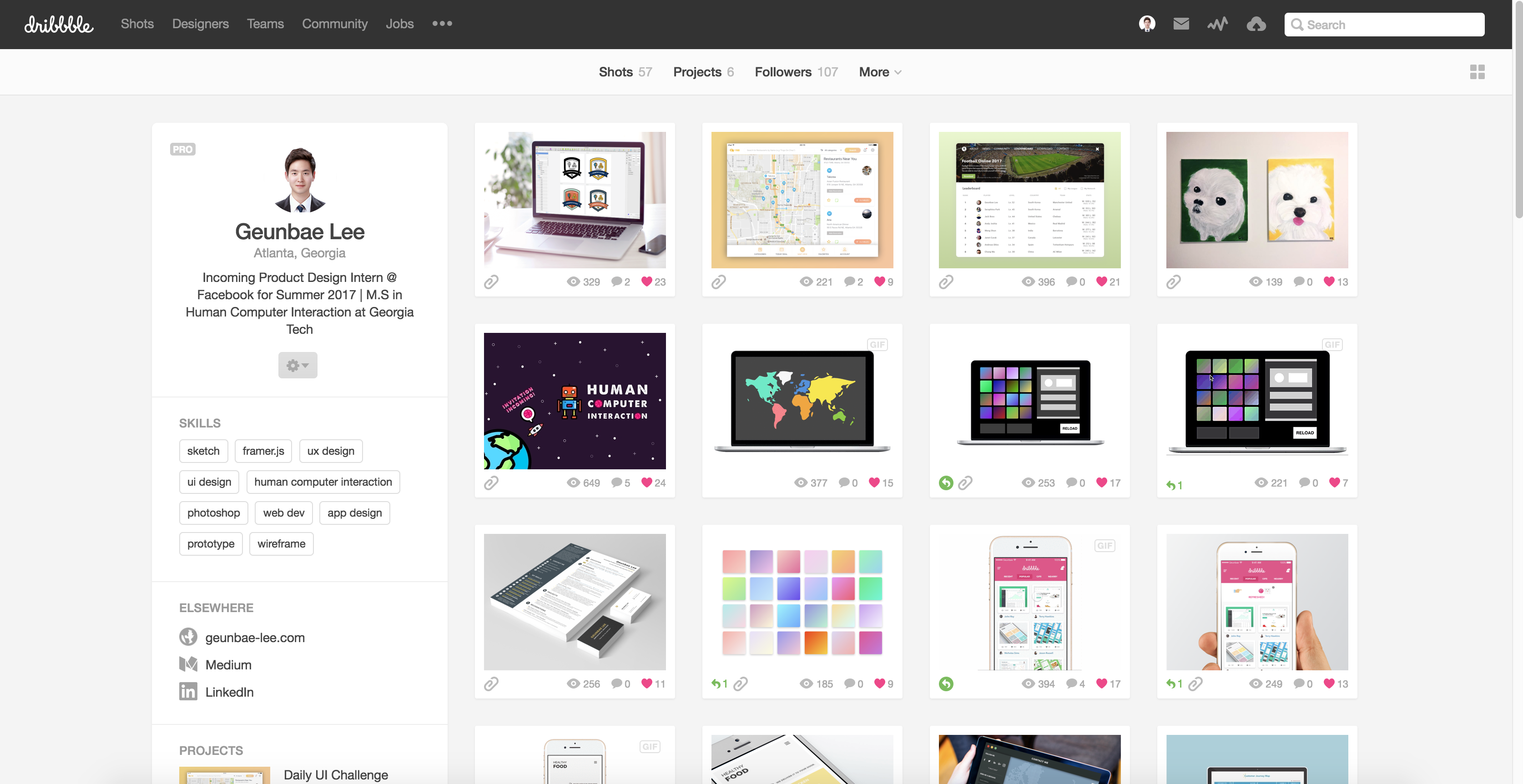 How To Structure Your First Ux Design Portfolio By Geunbae Gb Lee Ux Planet