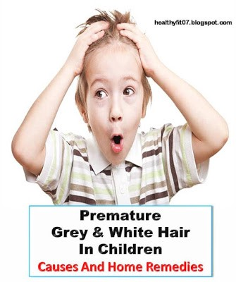 Know What Causes 12 Year Old Has Grey Hair | What To Do With