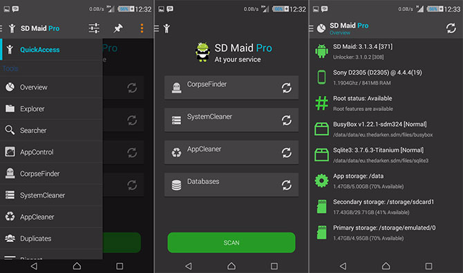 """Sd Maid Pro Latest APK Download. This program requires""""SD Maid — System… 