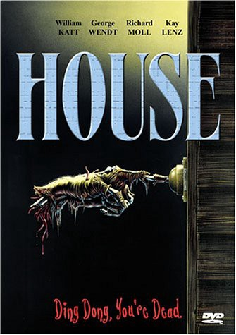 House is a horror movie with a wicked poster and DVD cover