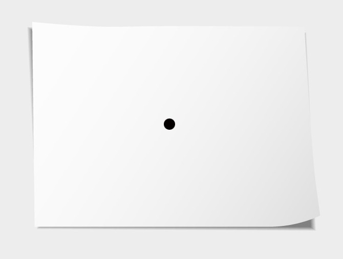 Black Dot In A White Paper A Black Dot In A White Paper By Mkdoublea Medium