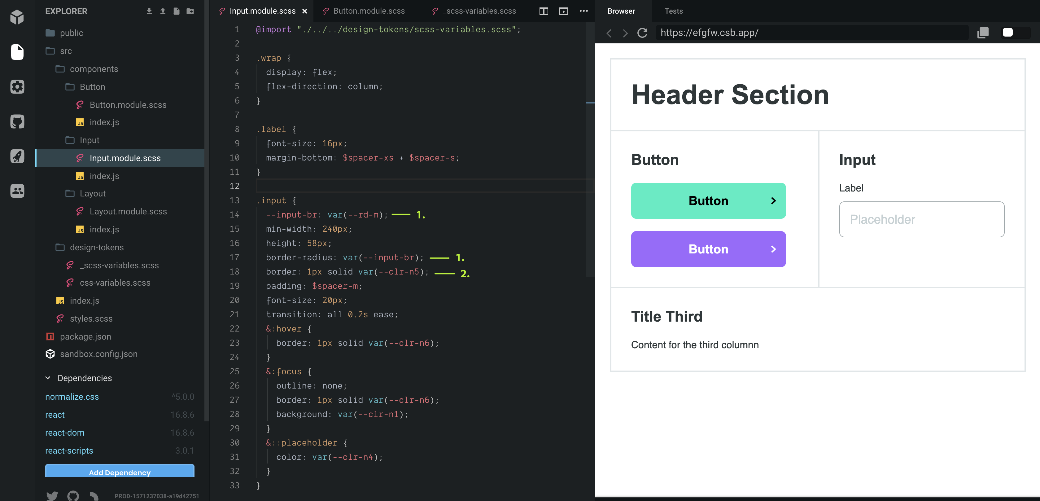 Theming With Css Variables Hello Today I Want To Share My By Pavel Laptev Prototypr