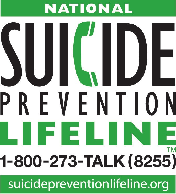 Suicide Prevention Lifeline number 1–800–273–8255