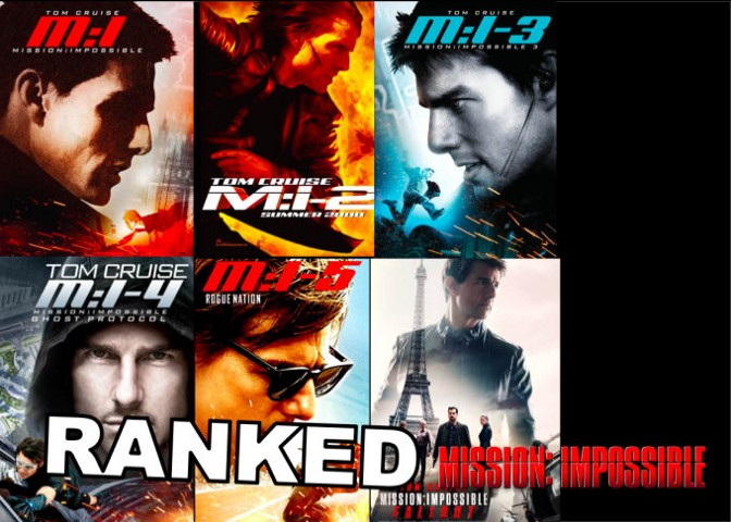 Ranking the 'Mission: Impossible' Movies From Worst to Best