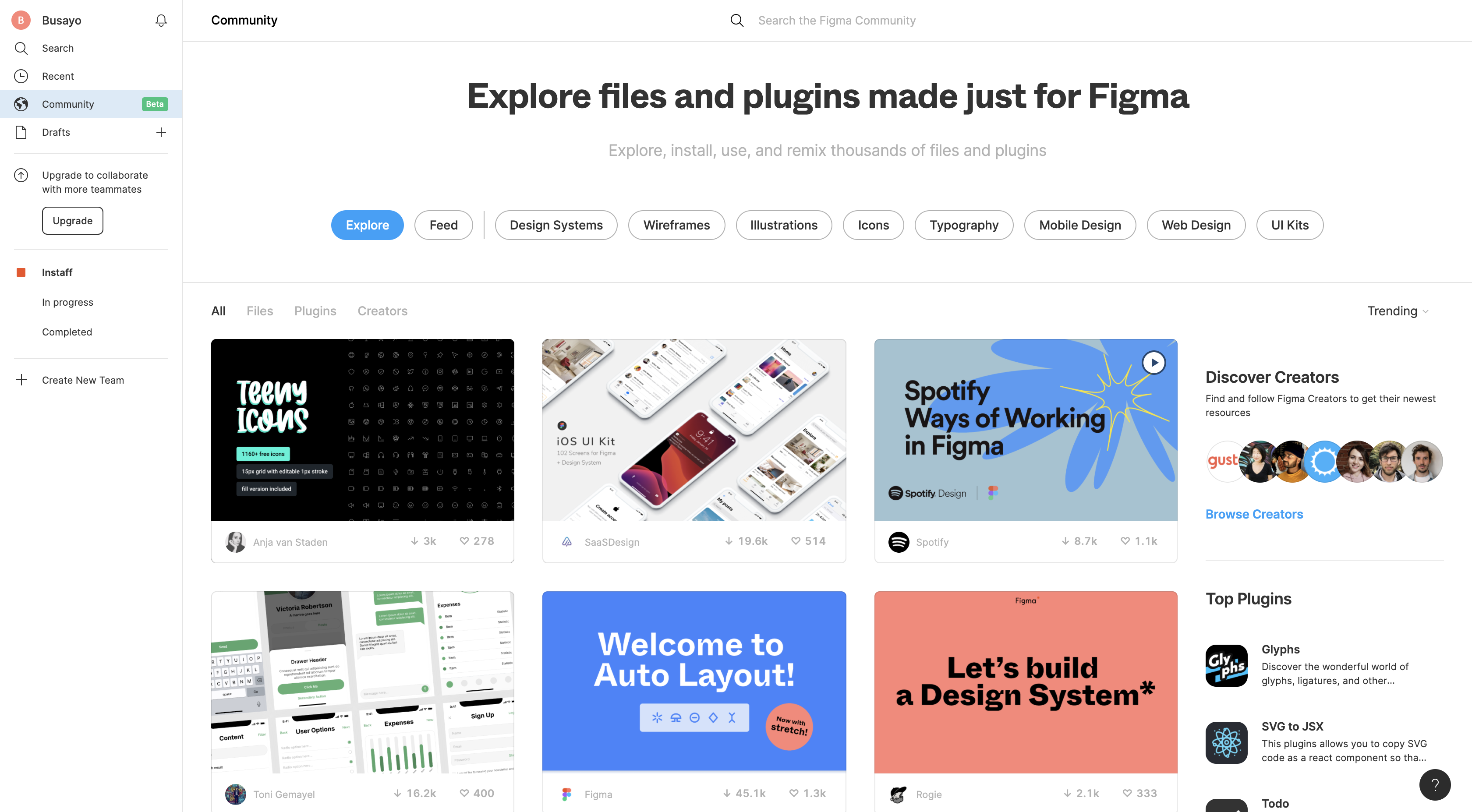 How to efficiently use Figma community resources | by Busayomi Oyewole | UX  Collective