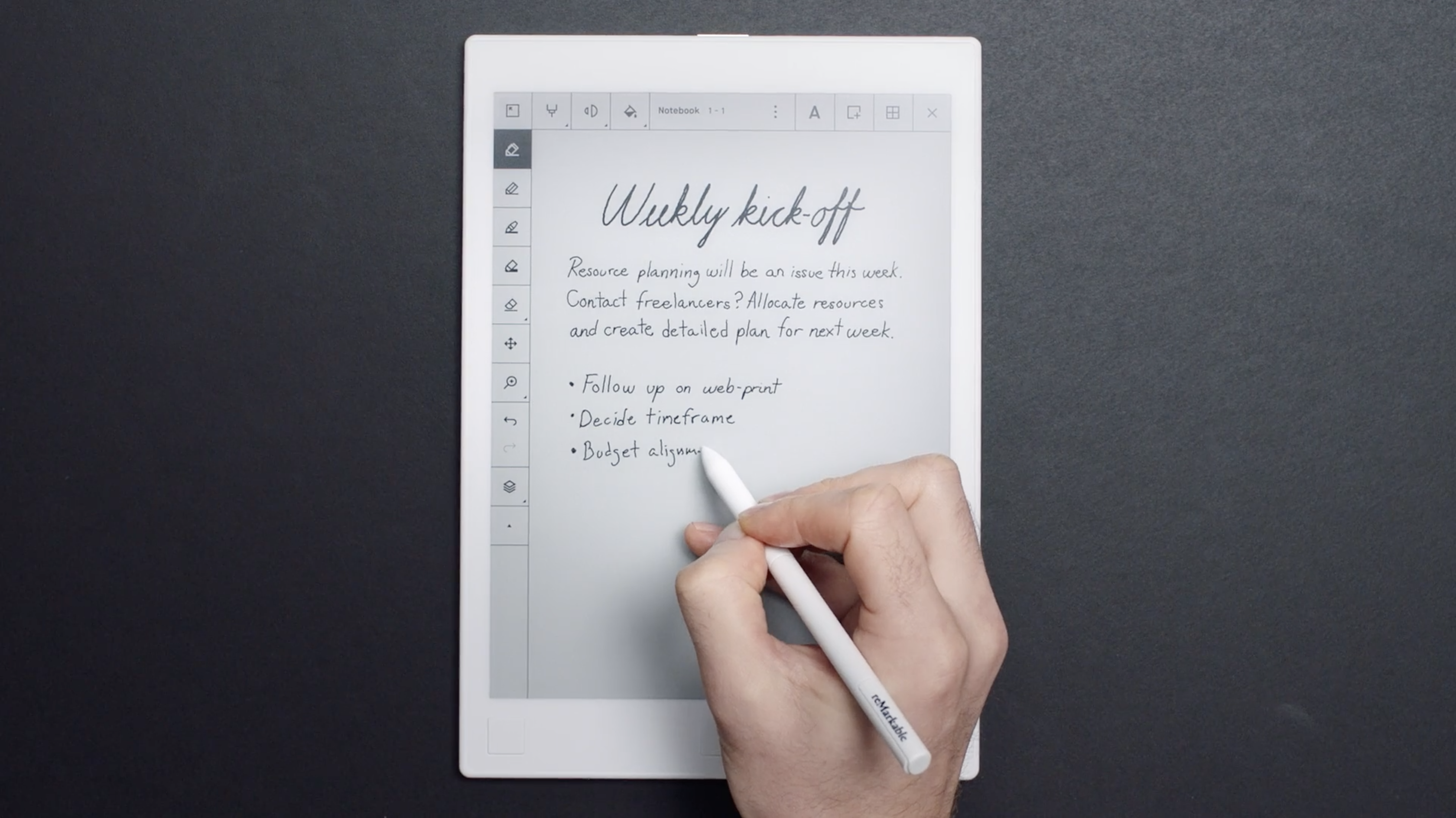 How to get the most out of reMarkable's new handwriting