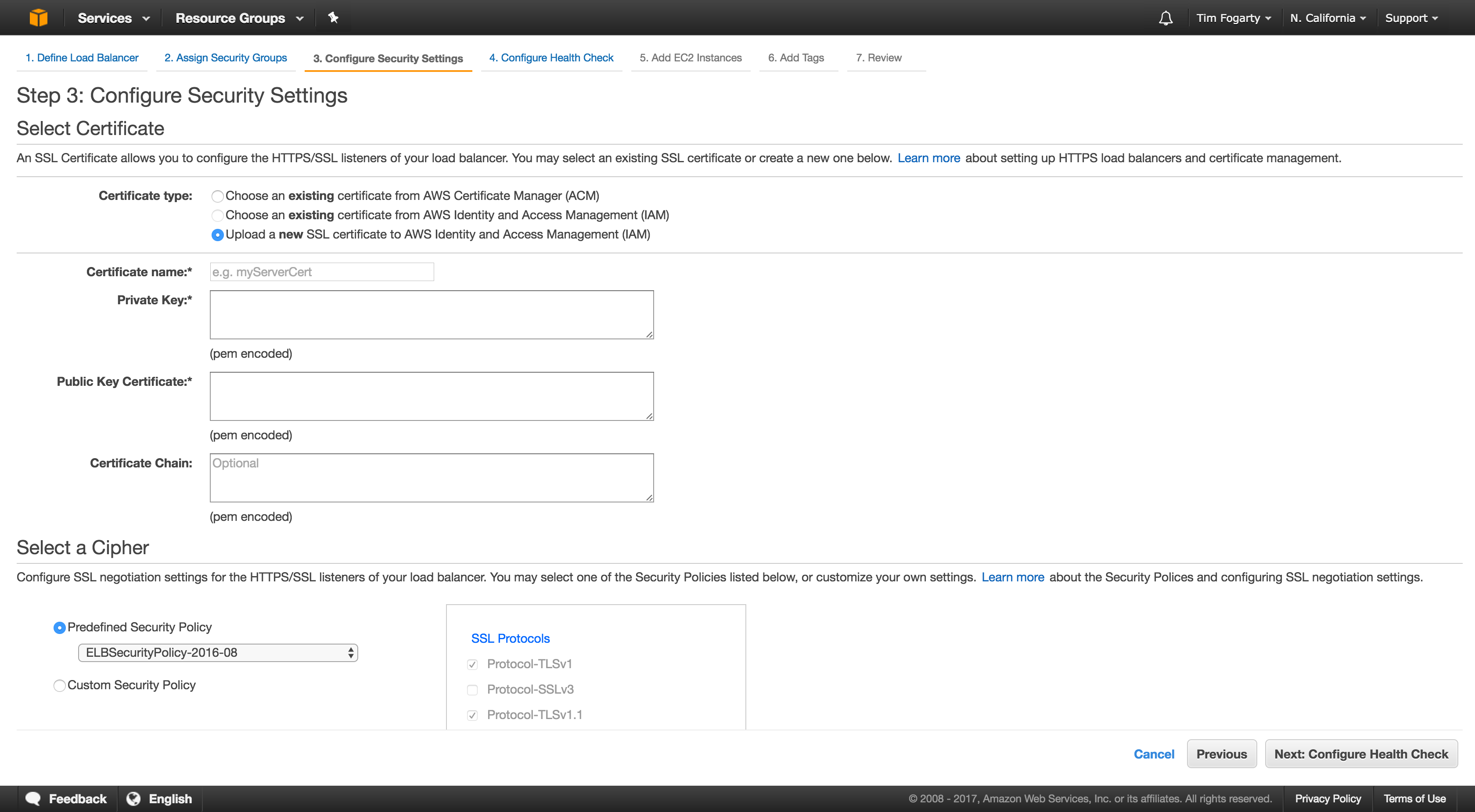How to serve your website on port 80 or 443 using AWS Load