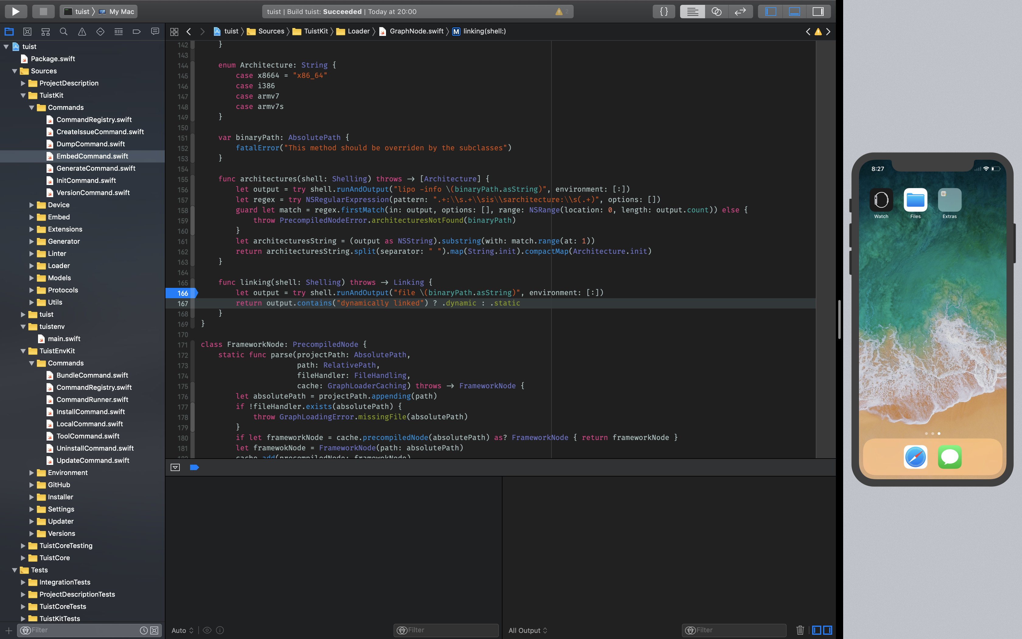 Running Xcode and Simulator in fullscreen - Noteworthy - The