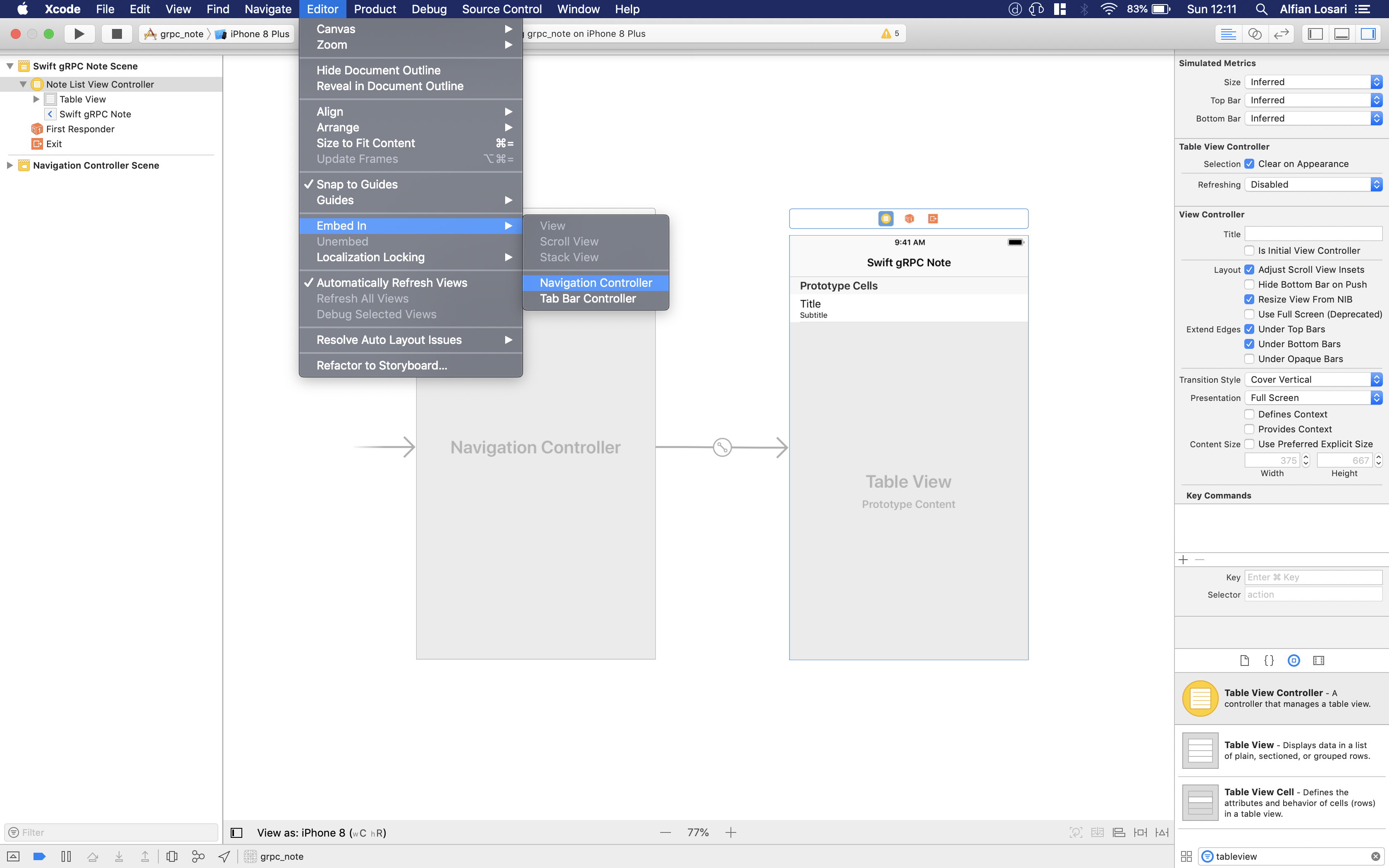 Building gRPC Client iOS Swift Note Taking App - Swift2Go