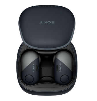 78d0db490a0 Those familiar with AirPods will automatically feel at home with the always  fantastically named Sony Truly Wireless Bluetooth Earbuds or SP700N  (seriously, ...
