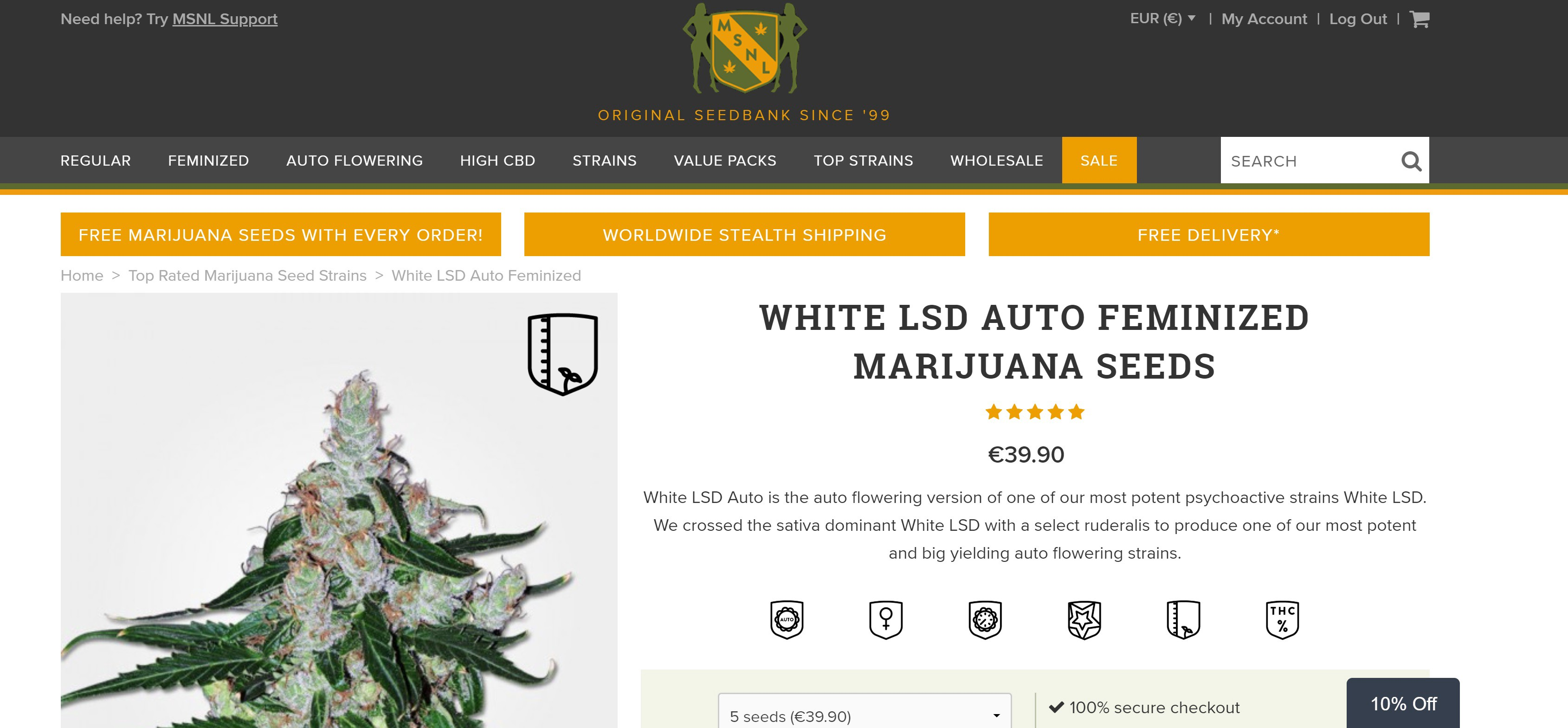 cost charm innovative design 50% off Best Cannabis Seed Banks that Ship to the USA (Legally)