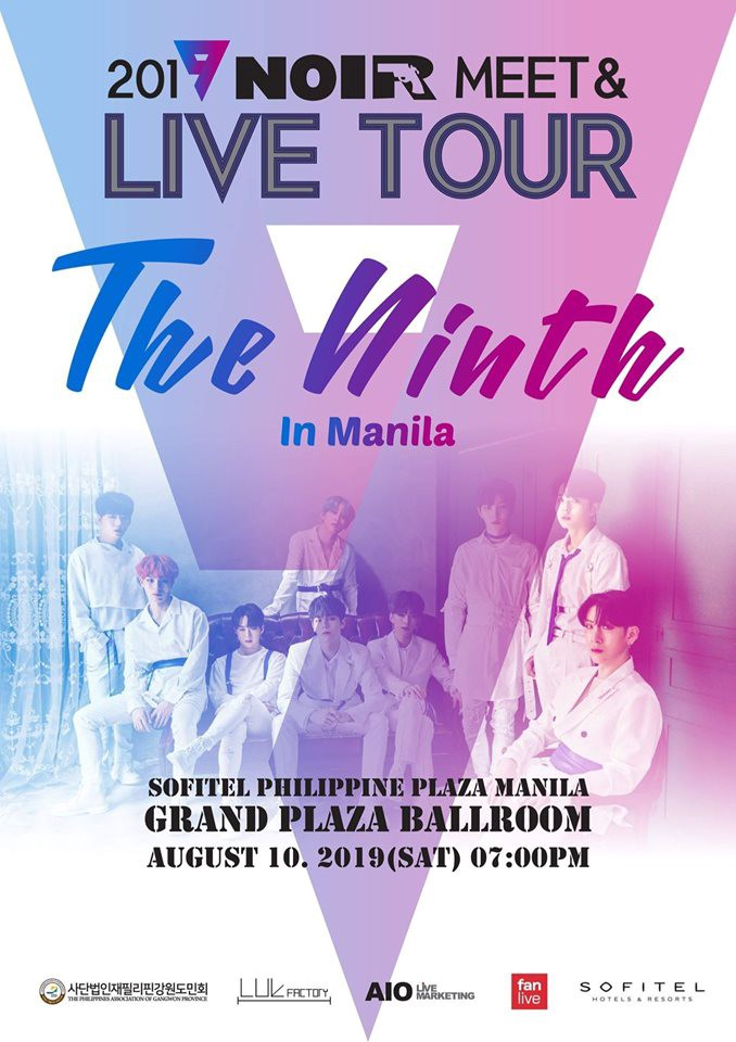 KPOP GROUP — NOIR RETURNS TO MANILA FOR THEIR FIRST EVER