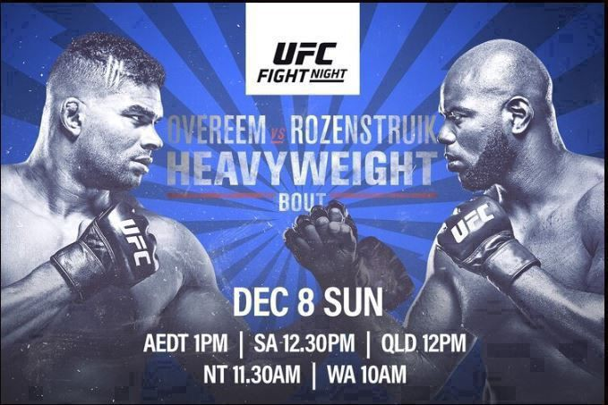 Streams Overeem Vs Rozenstruik Ufc Live Stream Free