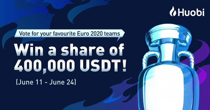 How to Vote for Your UEFA EURO 2020 and Share $400,000 Prize Pool!