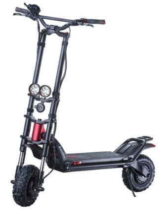 Kaaba Wolf Warrior 11+ Electric Scooter (Best Electric Scooter for Adults 250 Lbs)