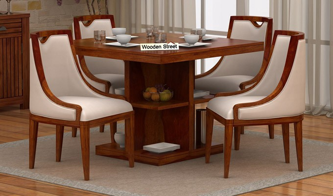 Four Seater Dining Table Arrangement