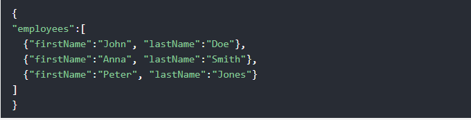 JSON Example.