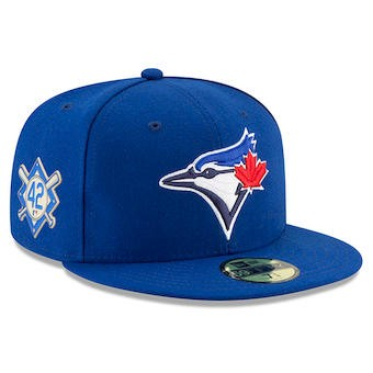 new product 017a6 9b933 Men s Toronto Blue Jays New Era Blue 2018 Jackie Robinson Day 59FIFTY  Fitted Hat