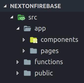 Next js on Cloud Functions for Firebase with Firebase Hosting
