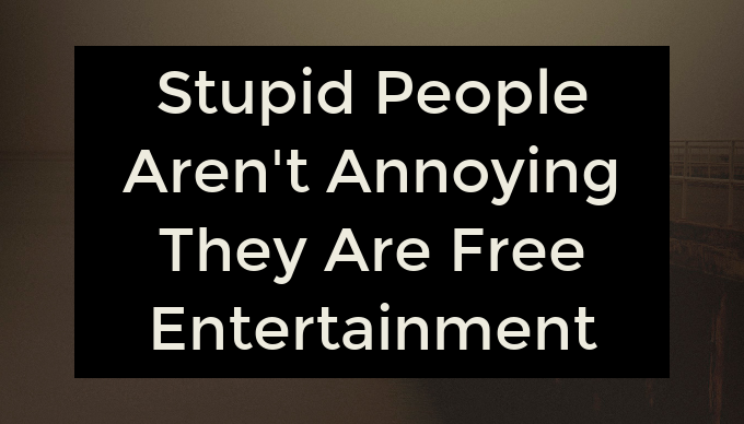 The Best \'Stupid People Quotes\' for Times When you an Eye ...