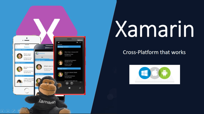 Challenges of developing a Xamarin application — 2018