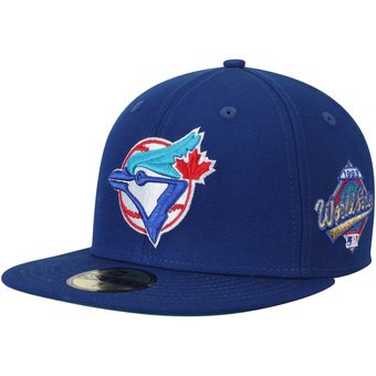 7a73cce71e2c62 Men's Toronto Blue Jays New Era Royal 1993 World Series Wool 59FIFTY Fitted  Hat