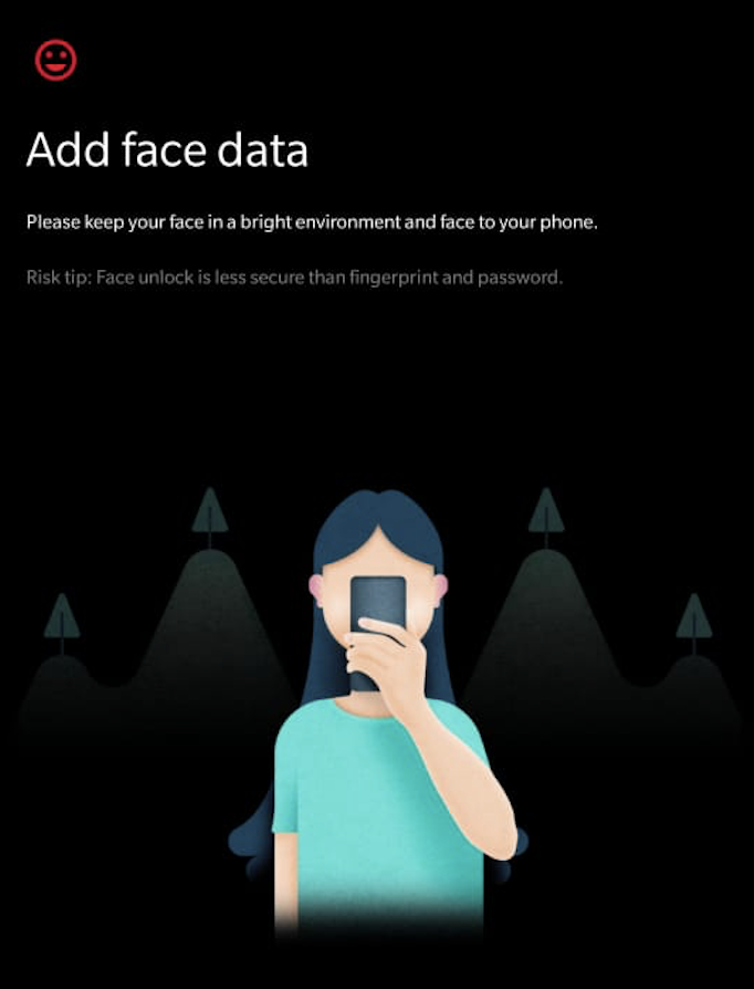 How I bypassed the face-unlock security on my OnePlus 6?