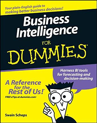 Business Intelligence For Dummies authored by Swain Scheps