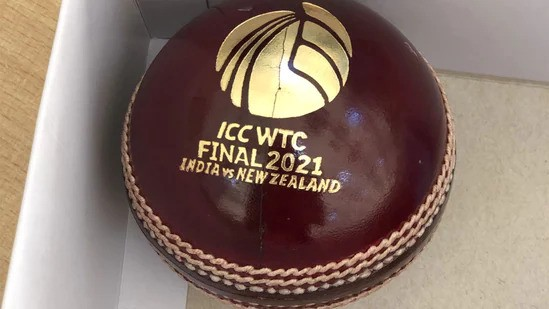 The Ball to be used in the ICC WTC Final on June 18, 2021