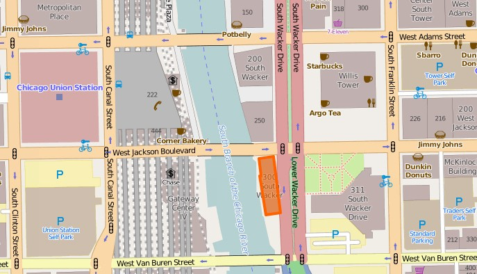 A 36-story map of the Chicago River - SB Anderson - Medium