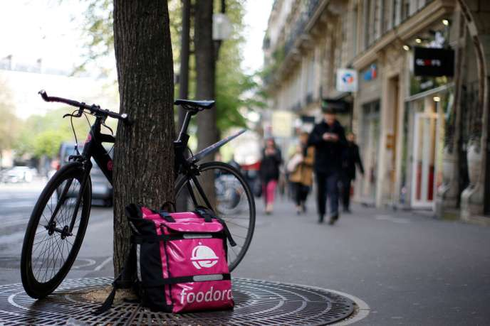 What drove Foodora's collapse in France?